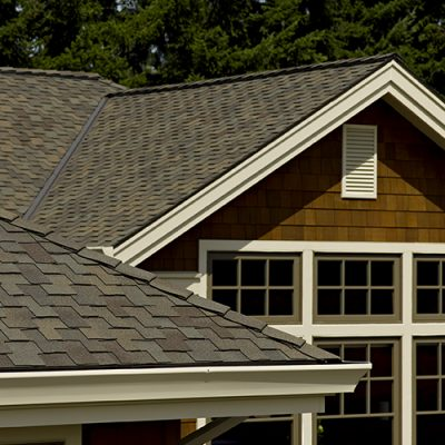 Architectural-style composition shingles